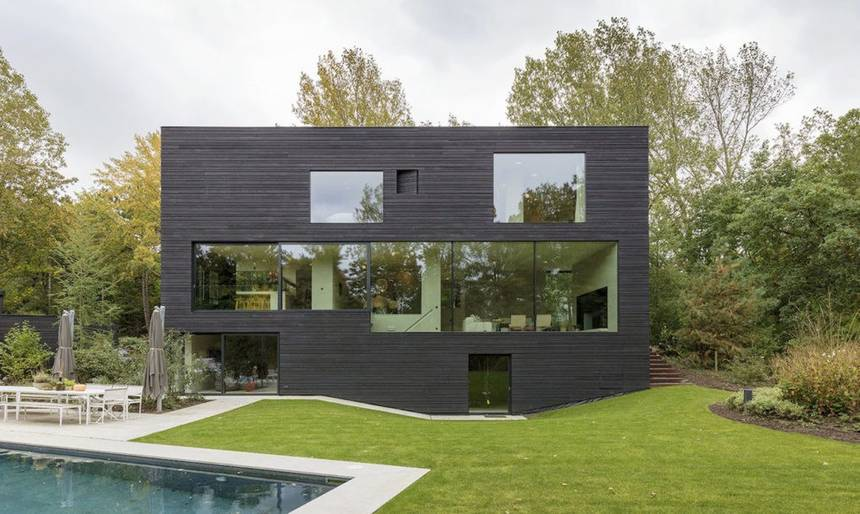 Why are so many modern houses black? | TreeHugger