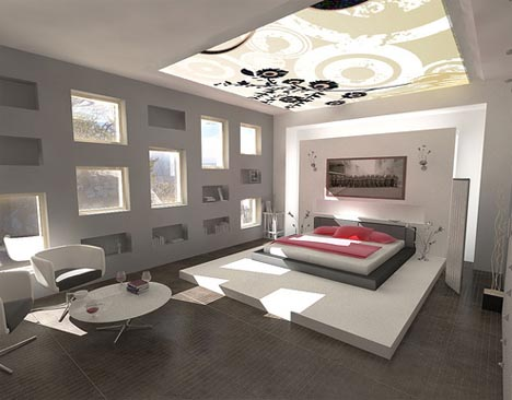 modern interior design ideas for bedrooms - Home Interior Decorating