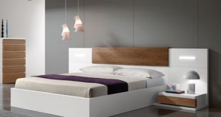 Contemporary King Size Bed | Contemporary bed in 2019 | Double bed