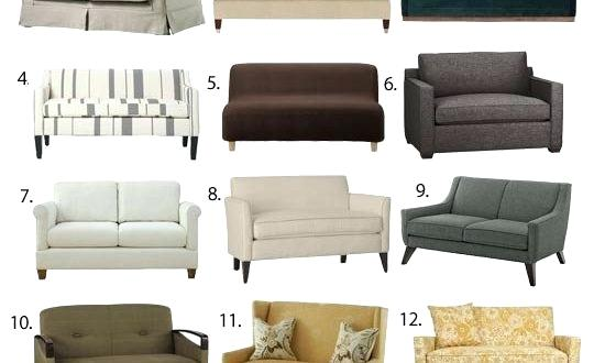 Modern Loveseat For Small Spaces | House Home