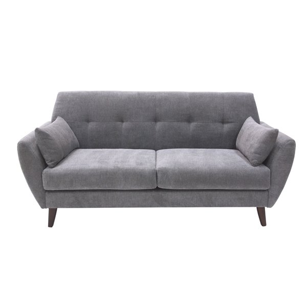 The comfortable and cozy modern loveseat