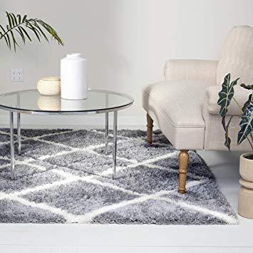 Amazon.com: Home Dynamix 3662-45 Carmela Jayna Modern Shag Area Rug