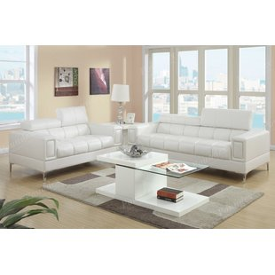 Modern White Living Room Furniture Sets