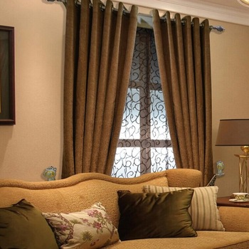 Luxury Modern Windows Curtain Simple Curtain Design For Study Room