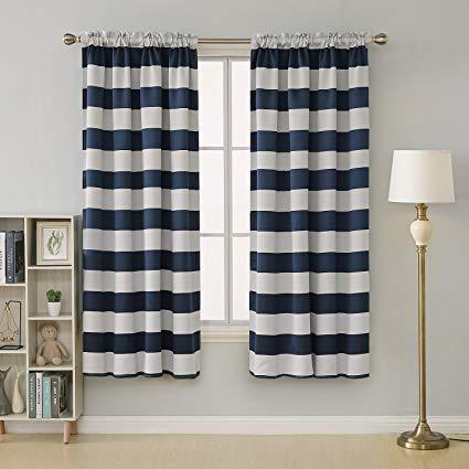 Elegant Designs in Nautical Curtains