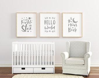 Nursery decor | Etsy