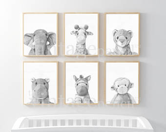 Nursery art | Etsy