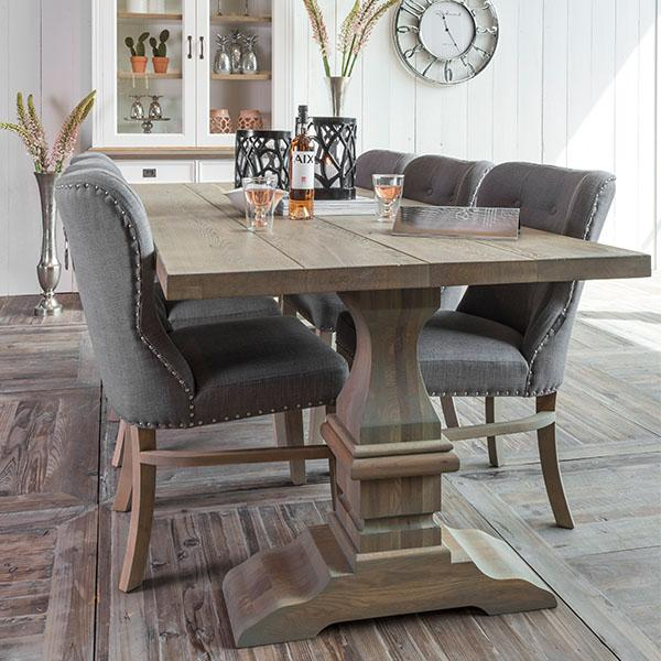 Oak Dining Table In Kitchen And Chairs Inspiring Remodel 19