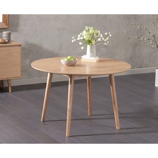 Round Oak Table | Wayfair.co.uk