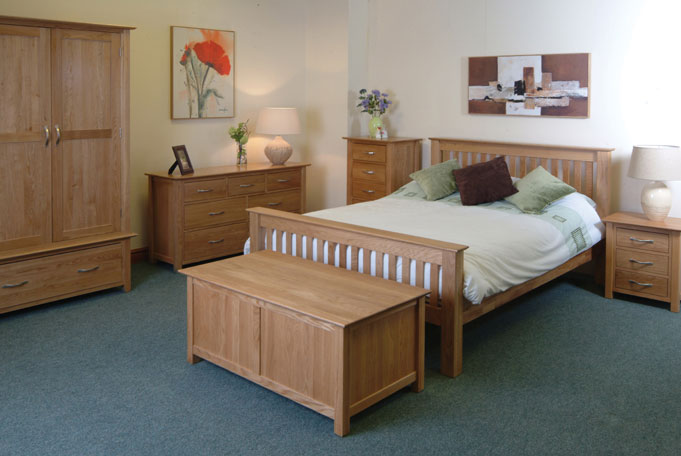 oak bedroom furniture design ideas for couples with baby lig