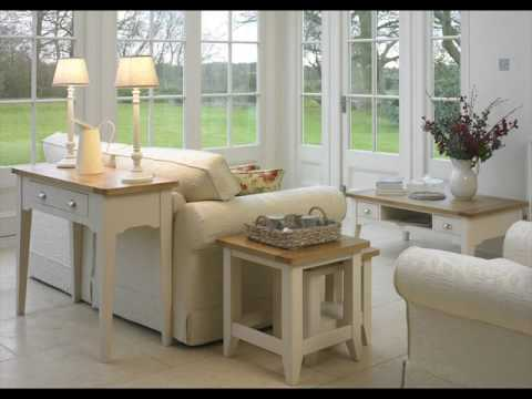 Oak Painted Living Room Furniture Designs - YouTube