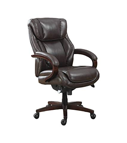 Amazon.com: La-Z-Boy Bellamy Executive Bonded Leather Office Chair