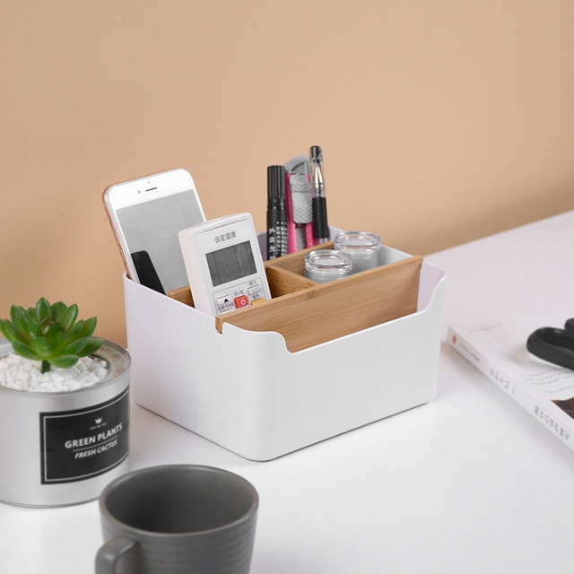 Creative Multi functional Desktop Storage Box Office Desk
