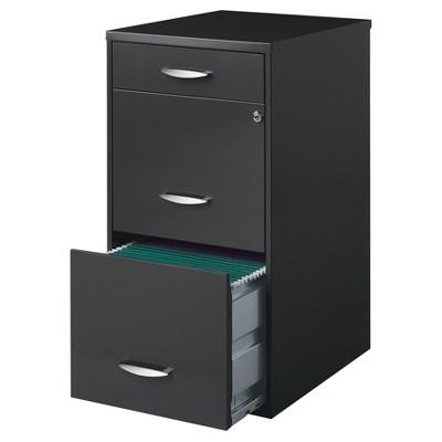 Office Designs File Cabinet 3 Drawer Letter Size : Target
