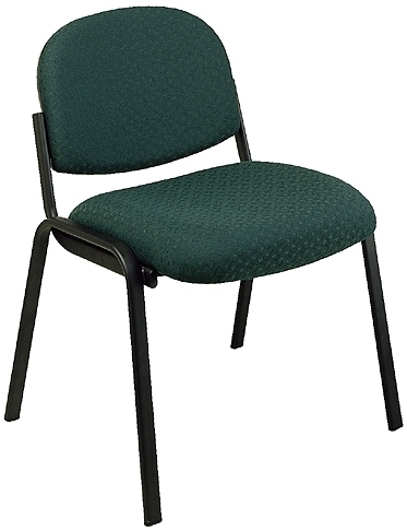 Office Reception Chairs - Armless Fabric Reception Chair [EX31]