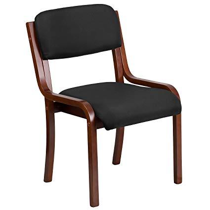 Amazon.com - Flash Furniture Contemporary Walnut Wood Side Reception
