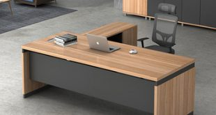 Latest Modern L-shape Executive Wooden Office Tables Design - Buy