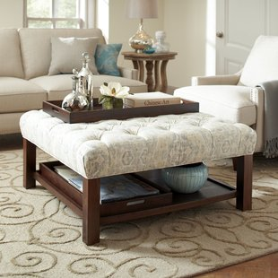 Ottoman As Coffee Table | Wayfair