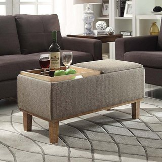 Shop Strick & Bolton Nir Storage Ottoman - Free Shipping Today
