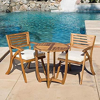 Amazon.com : Patio Furniture Sets, Outdoor Bistro Sets, Brown