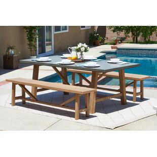 10 Piece Outdoor Dining Set | Wayfair