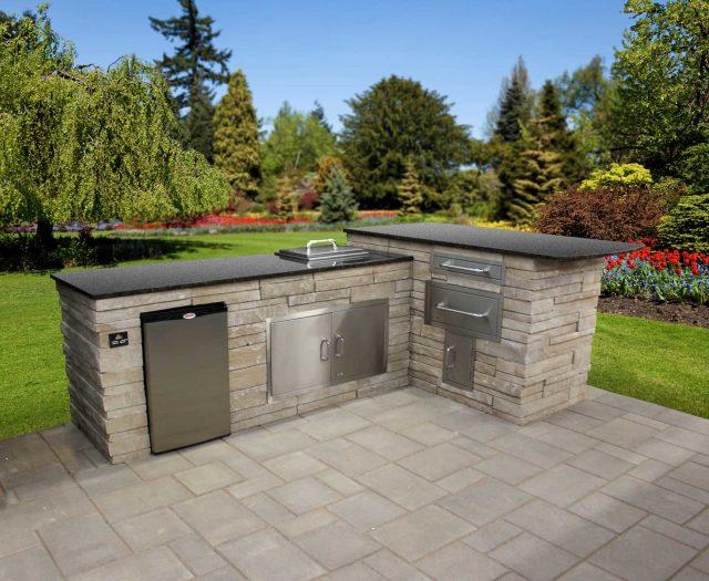 Prefab Outdoor Kitchens | Patio Kitchen Island | Outdoor Kitchen BBQ