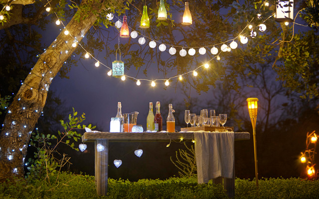 Outdoor Lighting - Shabby-chic Style - Landscape - Hampshire