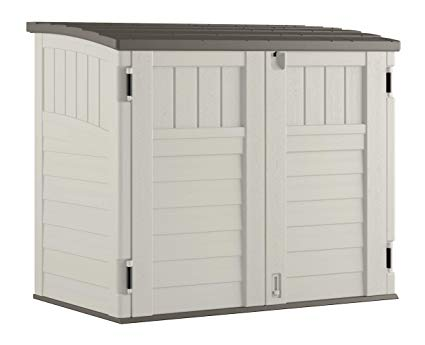 Amazon.com : Suncast Horizontal Storage Shed - Outdoor Storage Shed