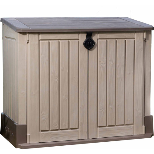 Keter Store-It-Out Midi 30-Cu Ft Resin Storage Shed, All-Weather