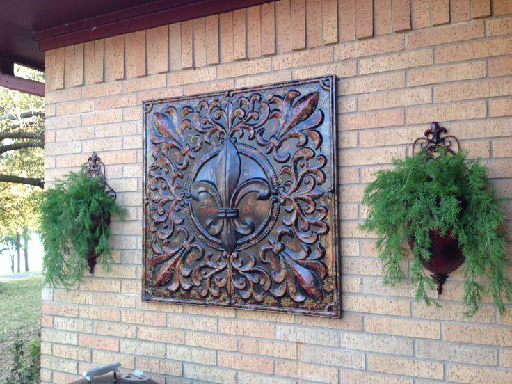 Garden Ridge Metal Wall Decor Outdoor Wall Decor Metal - Wall Art