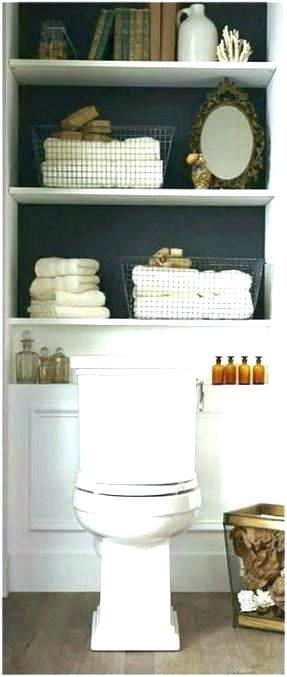 Over The Commode Shelves Over Toilet Organizer Behind Toilet Shelf