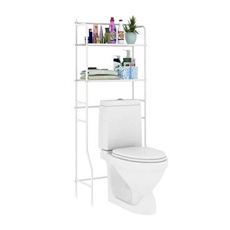 Amazon.com: HOME BI Over The Toilet Storage Bathroom Spacesaver