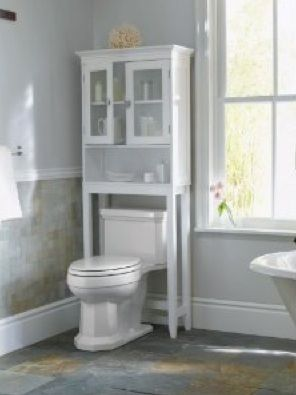 How to fix an Over Toiler Storage Unit