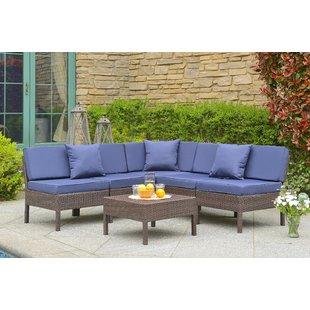 Navy Blue Patio Cushions | Wayfair