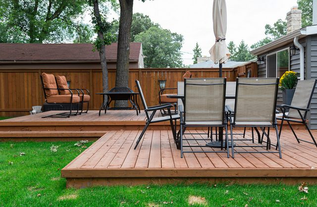 deck patio with patio and deck ideas with how to make a patio deck