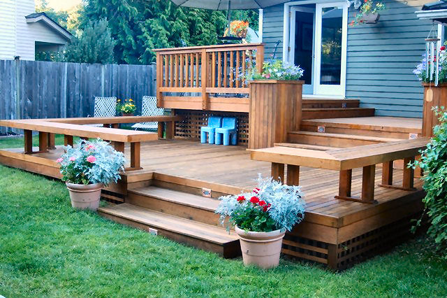 Custom Patio Deck Builder and Design Company - Serving the Seattle