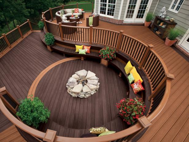 Enjoy the outdoors through patio decks