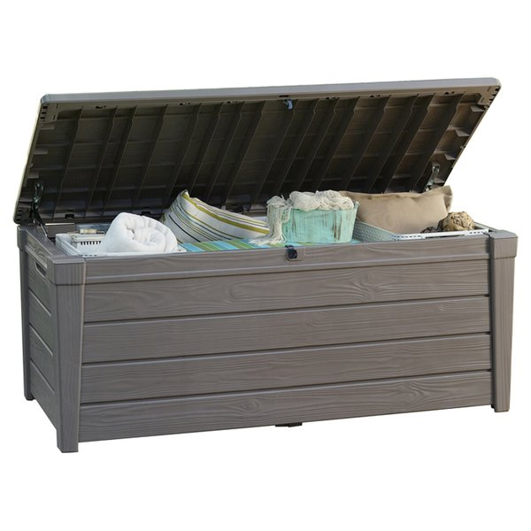 Store and protect with Patio storage