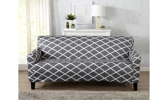 Up To 58% Off on Tori Printed Furniture Slipcover | Groupon Goods