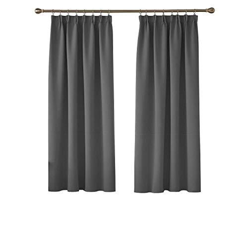 Pencil Pleat Curtains: Amazon.co.uk