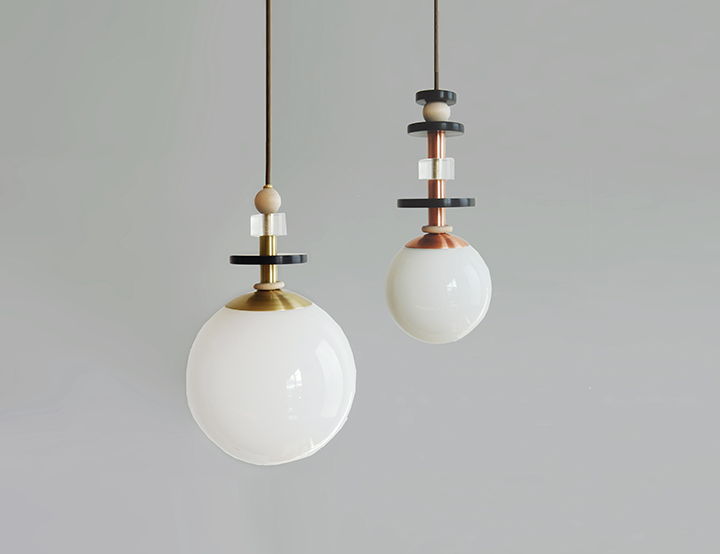 Maru Pendant Lights u2014 L & G Studio