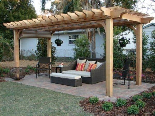 Pergola Canopy | DIY Retractable Pergola Canopy Kit for Attached