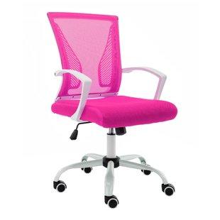 Blush Pink Office Chair | Wayfair