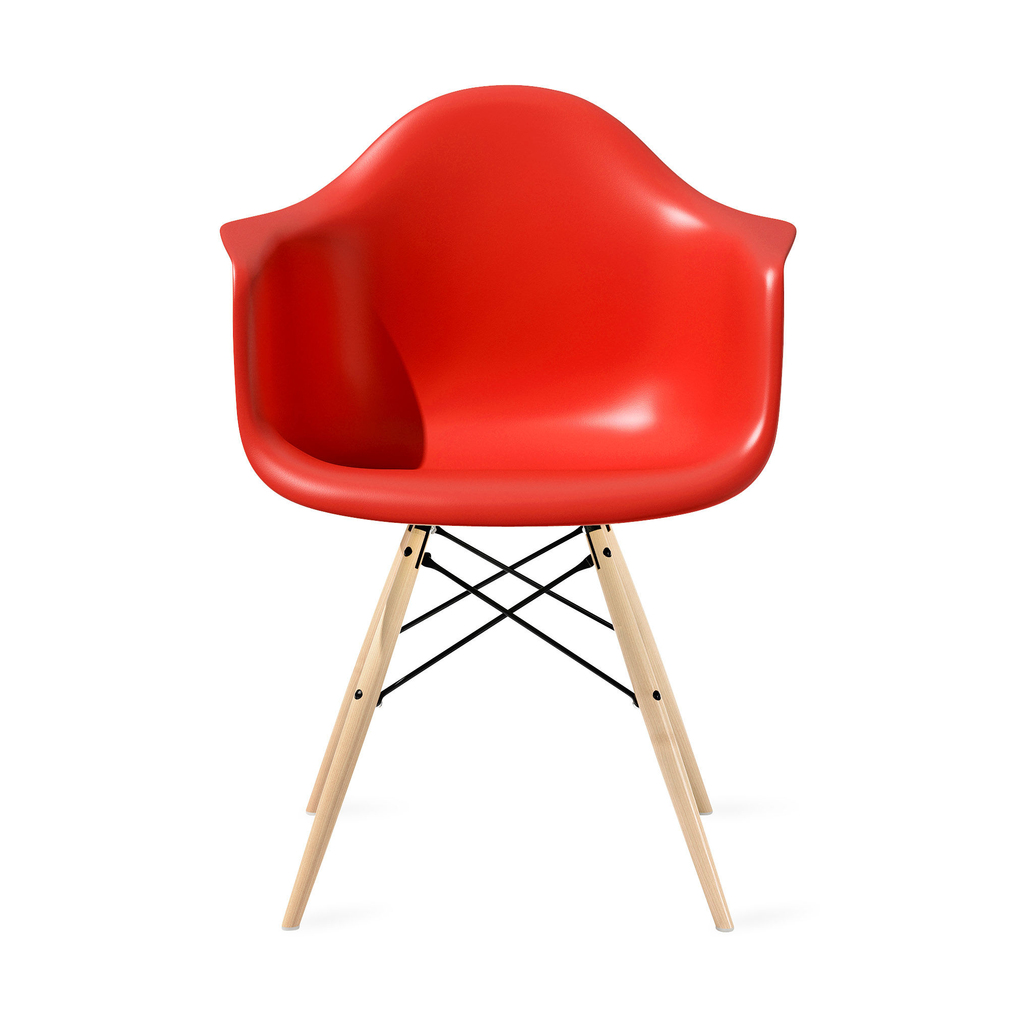 Eames® Molded Plastic Armchair with Dowel-Leg Base (DAW) | MoMA