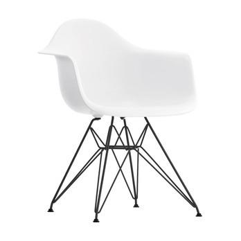 Vitra Eames Plastic Armchair DAR Black Base | AmbienteDirect