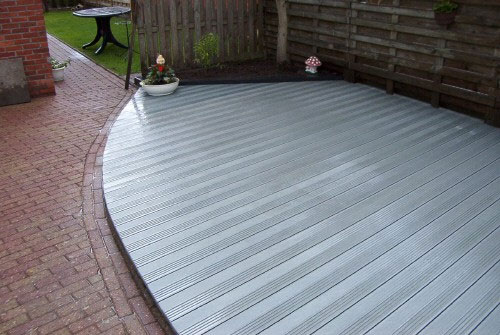 Recycled Plastic Decking   Second Life Decking Products