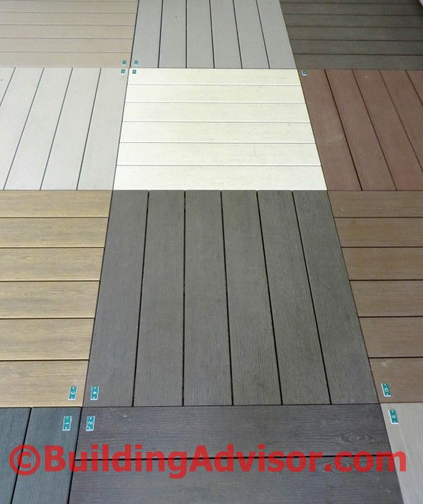 A vast array of composite and plastic decking options promise wood