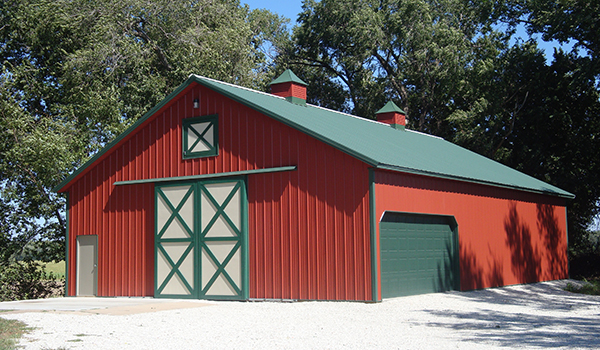 Pole Barns - Metal & Steel Garages - Lester Buildings