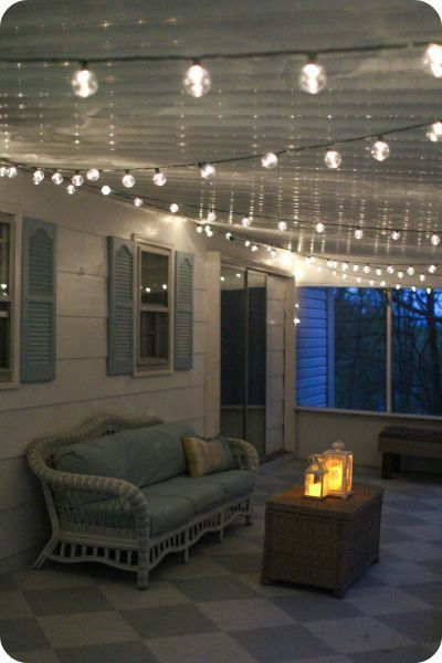 A gorgeous porch light solution | Bloggers' Best DIY Ideas | Porch