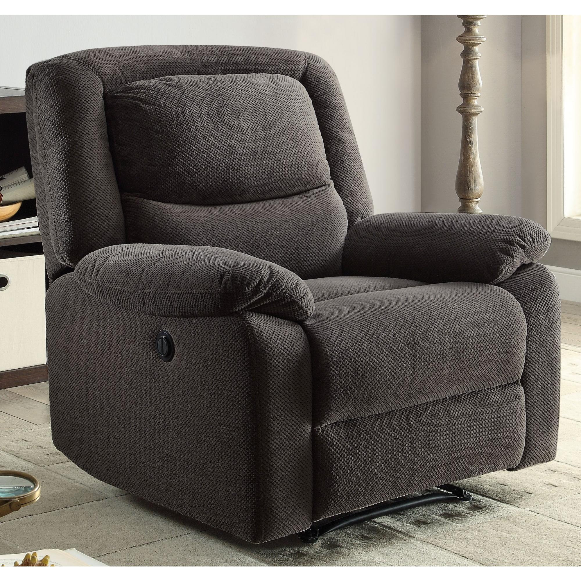 Serta Push-Button Power Recliner with Deep Body Cushions, Ultra